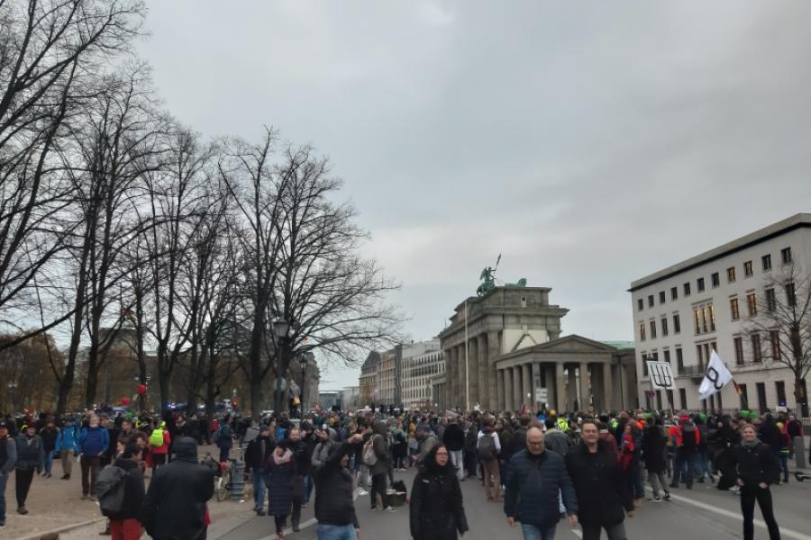 Protest Germania - 18.11.2020