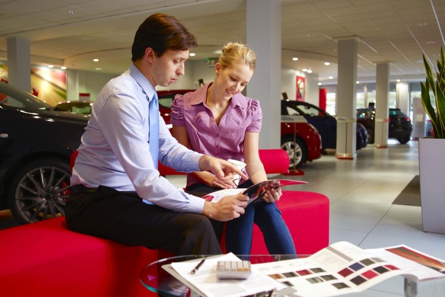 Vânzare de mașini