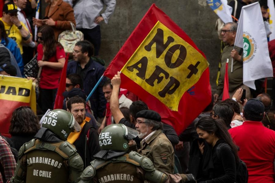 Protest în Chile