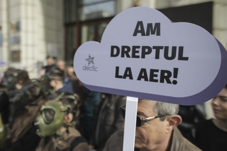 poluare mediu - protest - Foto: Inquam Photos / Octav Ganea
