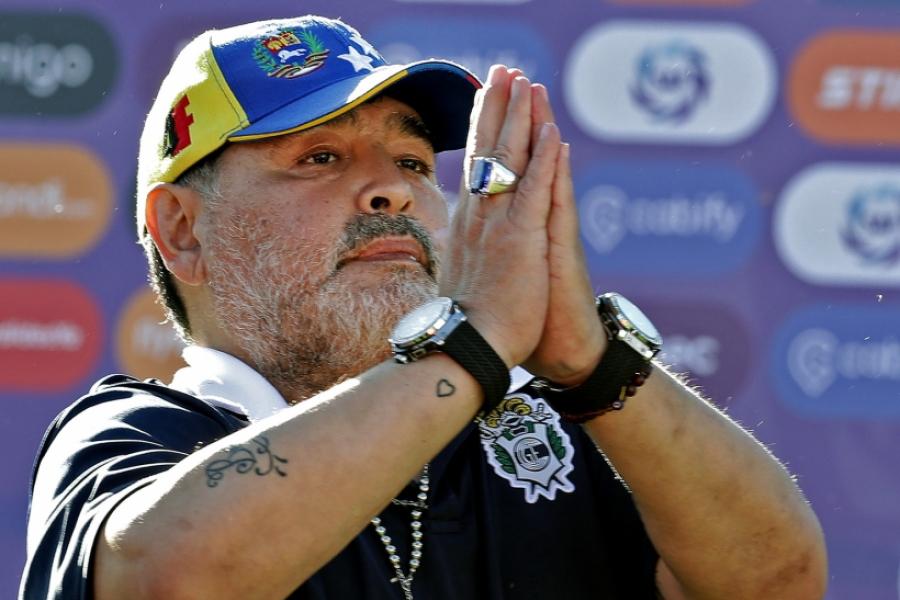 Diego Maradona - (Foto: Alejandro Pagni / AFP / Profimedia)