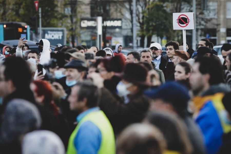 protest antimasca - Foto: MoiraM / Alamy / Alamy / Profimedia)
