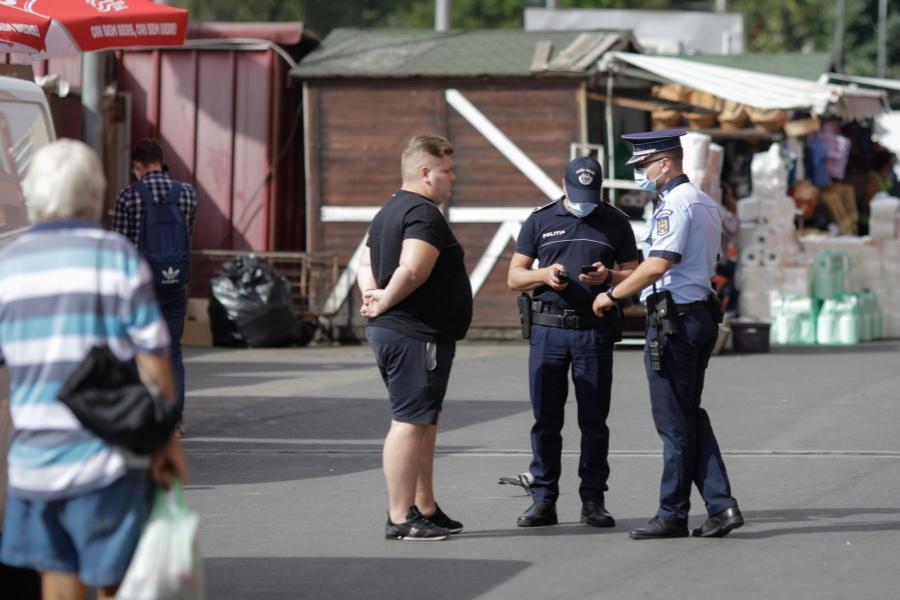 Piata Obor - politie