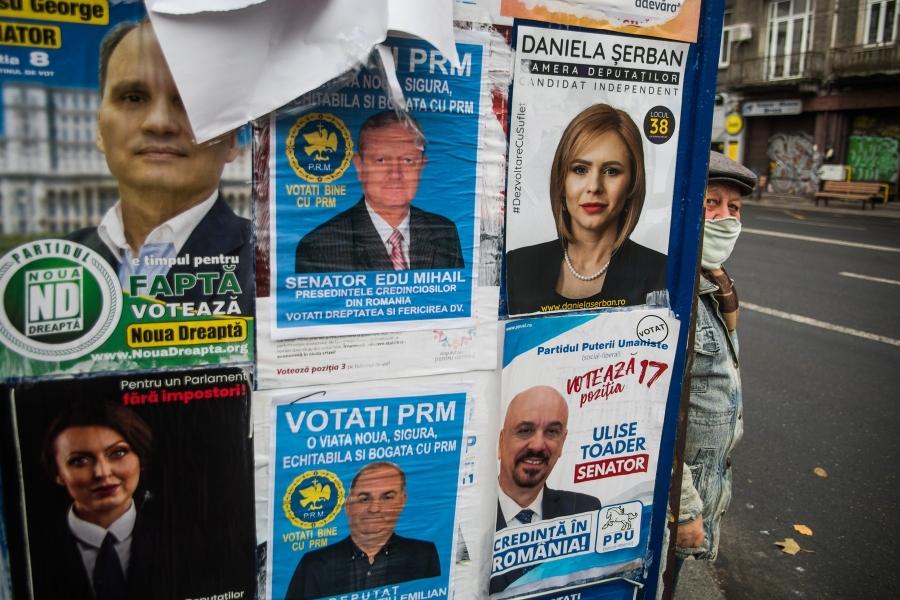 alegeri parlamentare - (Foto: Mihai Barbu/ AFP / Profimedia)