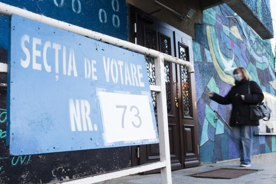 Secție de votare Timișoara