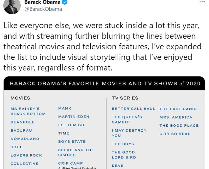 Obama list -