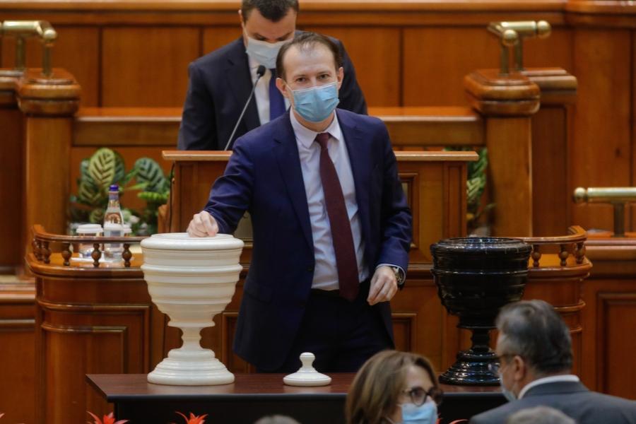 Guvernul Cîțu vot de învestitură