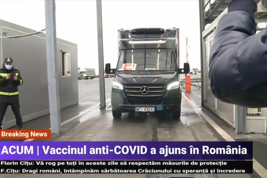 Transport vaccin