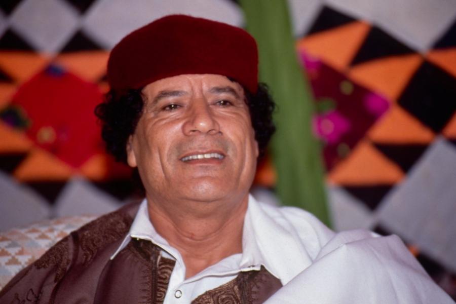 Moammar Ghaddafi