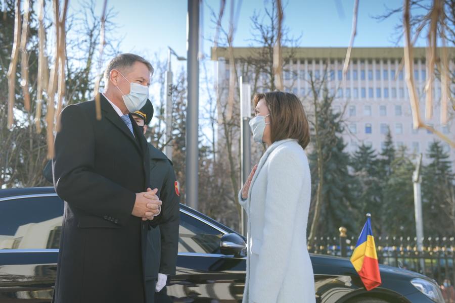 Maia Sandu - Klaus Iohannis