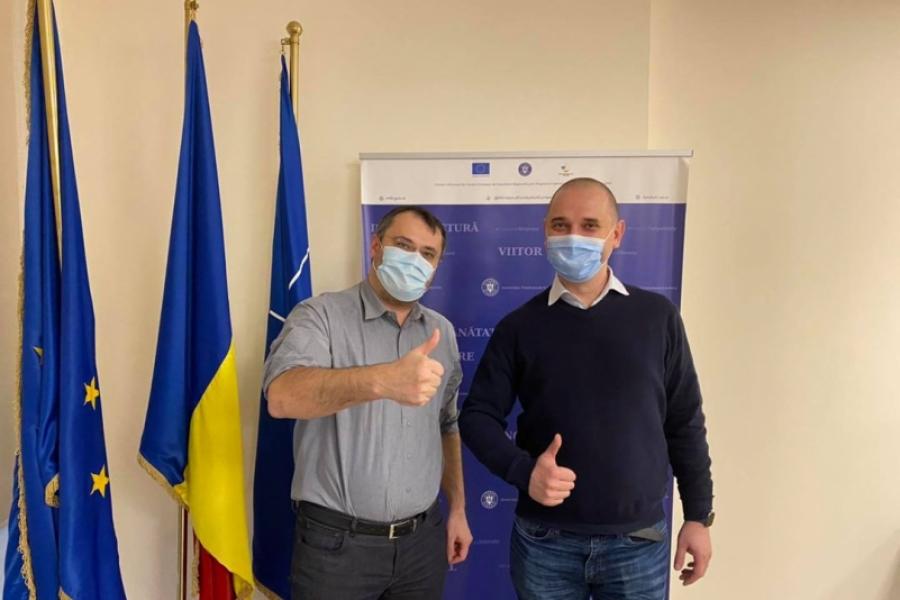 Radu Mihaiu și Cristian Ghinea
