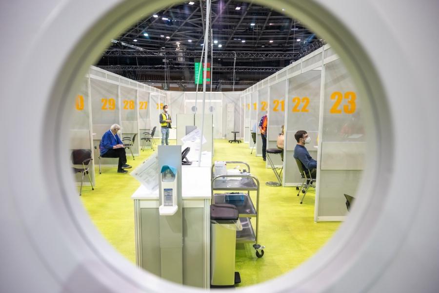 Centru vaccinare Berlin