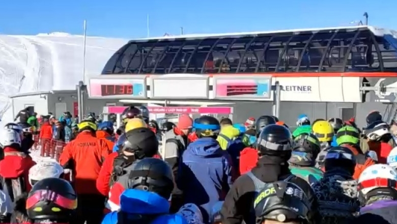 Aglomeratie la schi