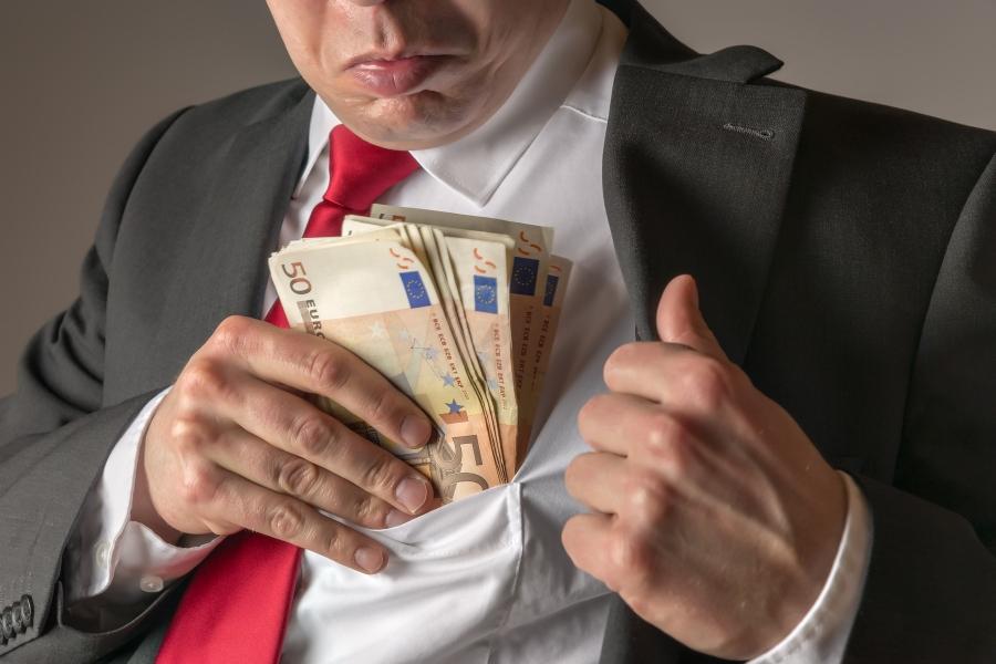 coruptie - euro Wolfgang Zwanzger / Panthermedia / Profimedia