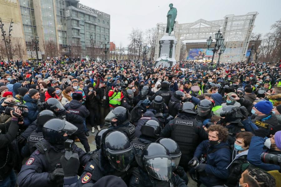 proteste in rusia - Sergei Savostyanov / TASS / Profimedia