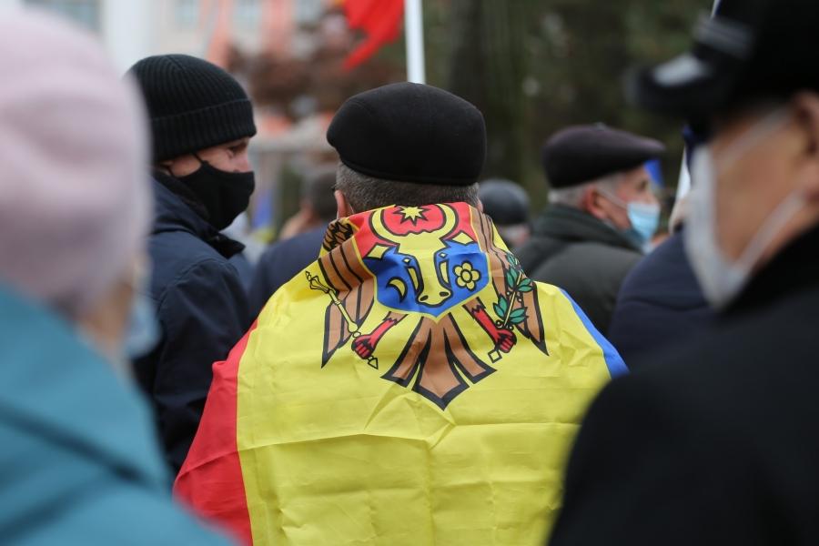 R Moldova steag (Foto: Mihai Karaush / Sputnik / Profimedia)