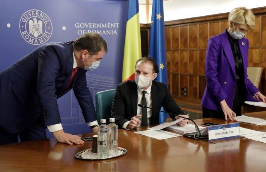 Guvernul Cîțu - 3 februarie