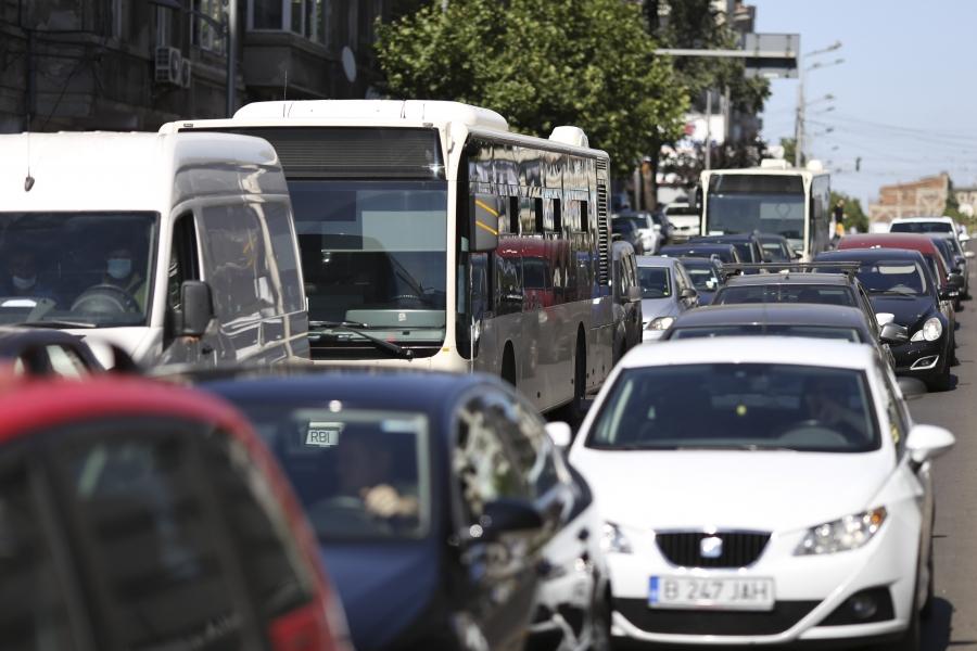 București, trafic autobuz