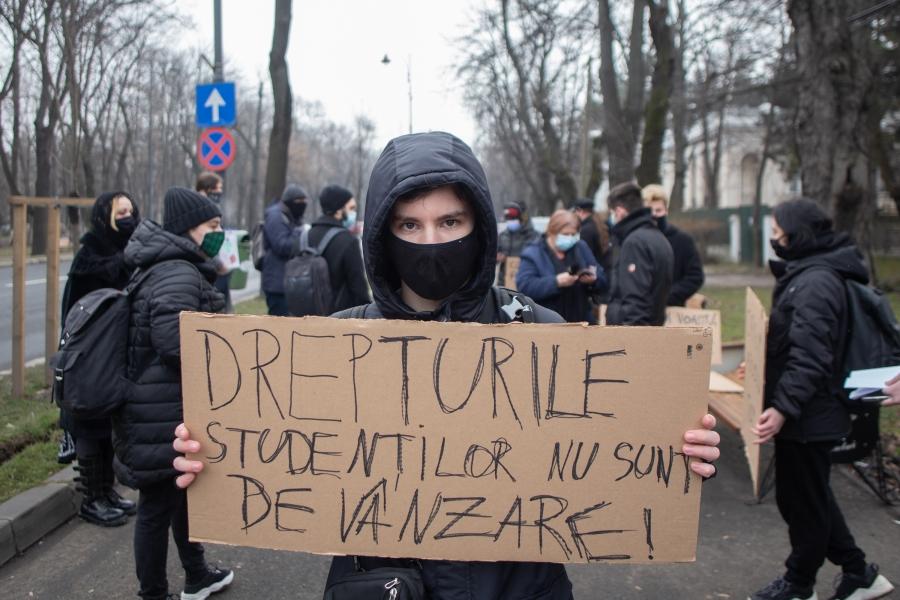 cfr - studenti - protest