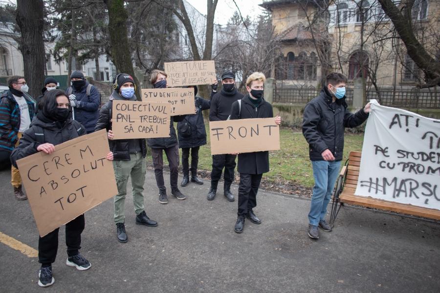 studenti - protest - Foto: Inquam Photos / Ilona Andrei