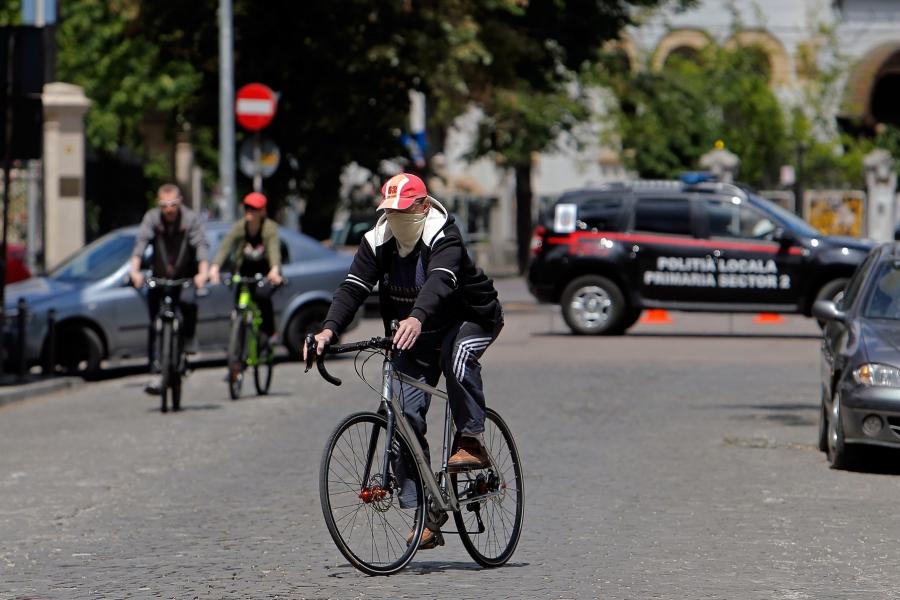 Bucuresti - oameni pe strada - Xinhua / Zuma Press / Profimedia