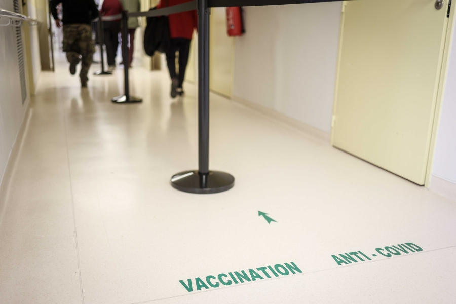 vaccinare - Luc Nobout / Zuma Press / Profimedia