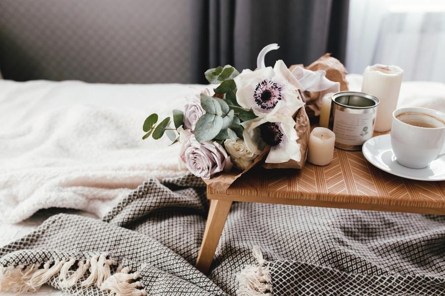 flori - mic dejun