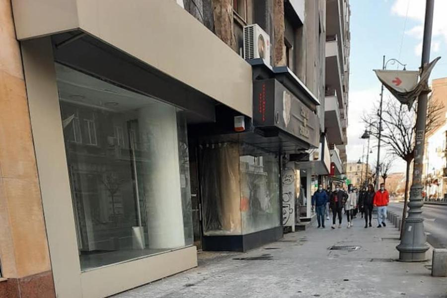 Trotuar din București