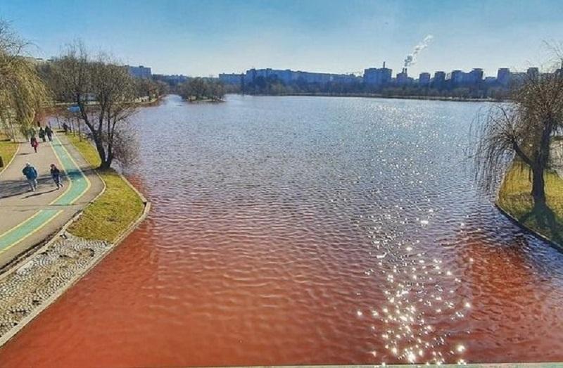 lacul IOR - poluare