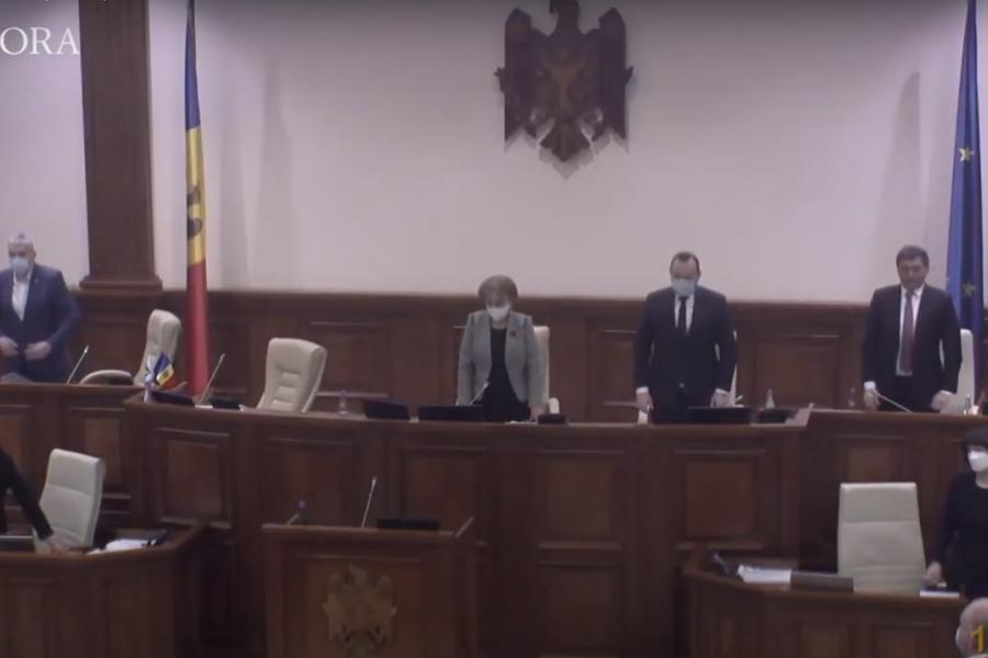 Parlament Chișinău reculegere