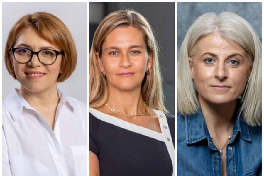 Colaj Murielle Lorilloux, Ioana Mihăilescu și Anca Bancu