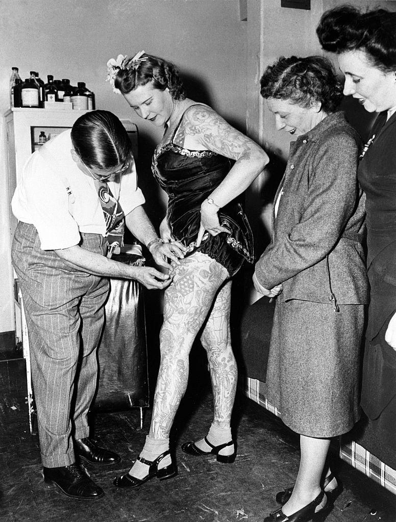 Artistă de circ, imunizată contra variolei