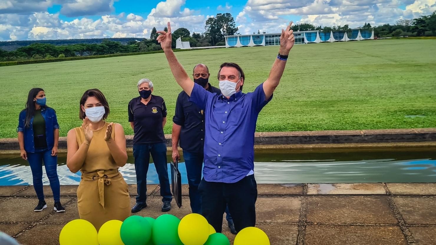 Brazilia - Ziua presedintelui Jair Bolsonaro