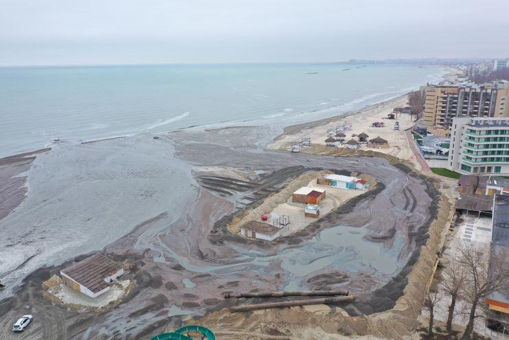 Extindere de plajă - Mamaia