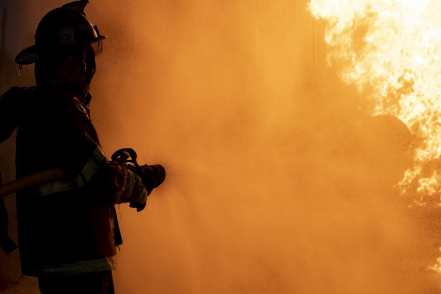 pompier - foc