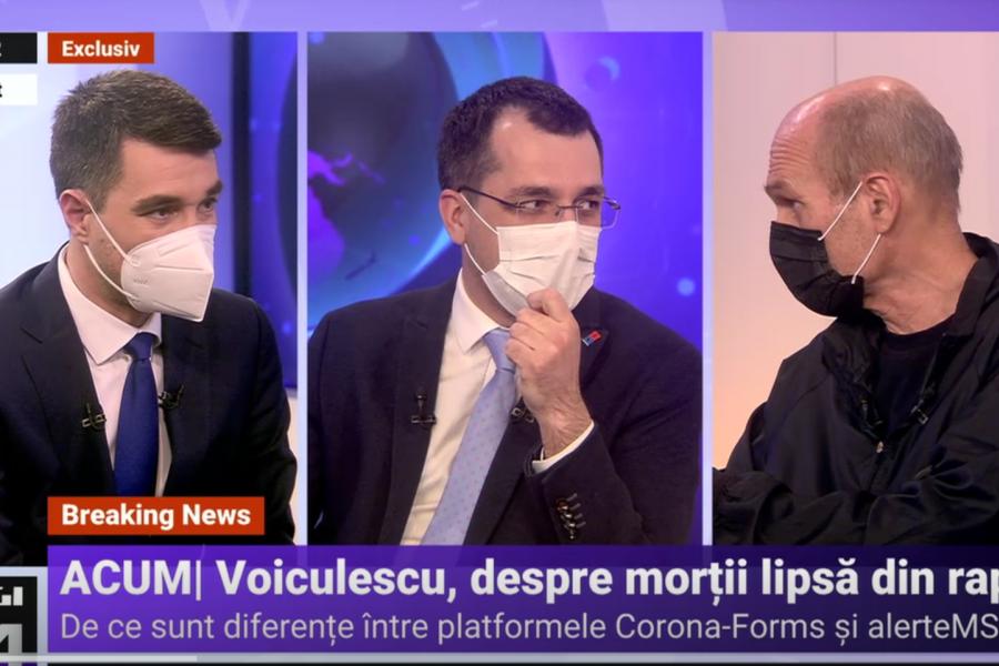 Vlad Voiculescu la Digi24