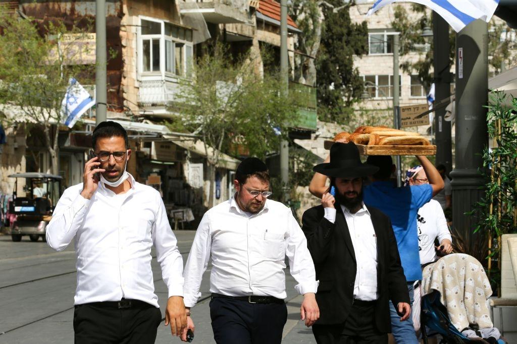 Israel - prima zi fara masca in spații deschise