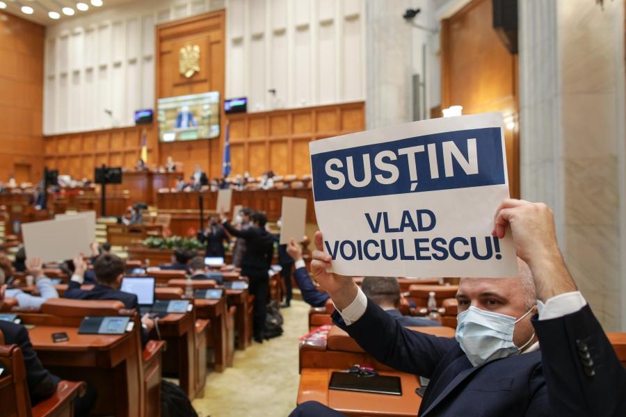 sustin Vlad Voiculescu - Parlament - Foto: Inquam Photos / Octav Ganea