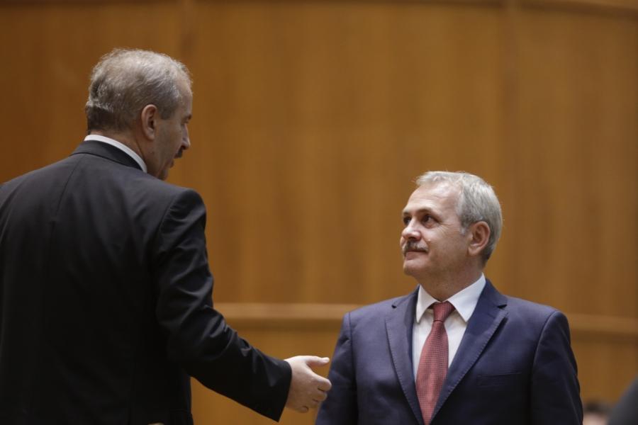 Vasile Dincu si Liviu Dragnea
