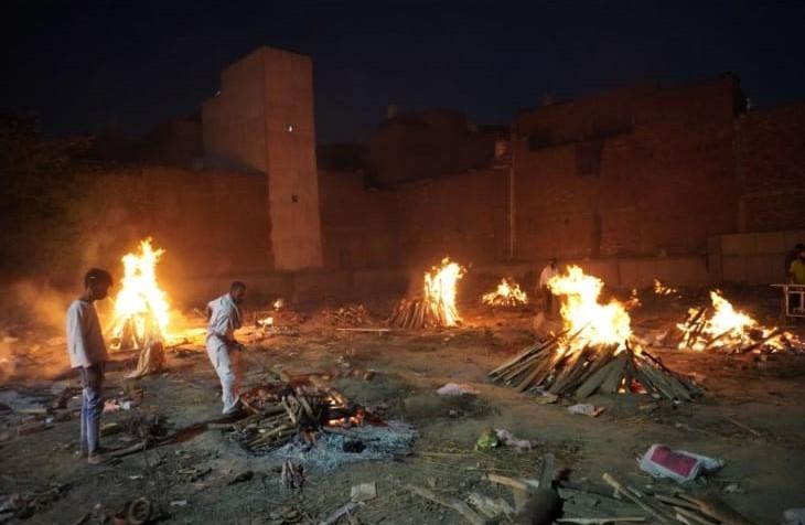 India - crematorii covid