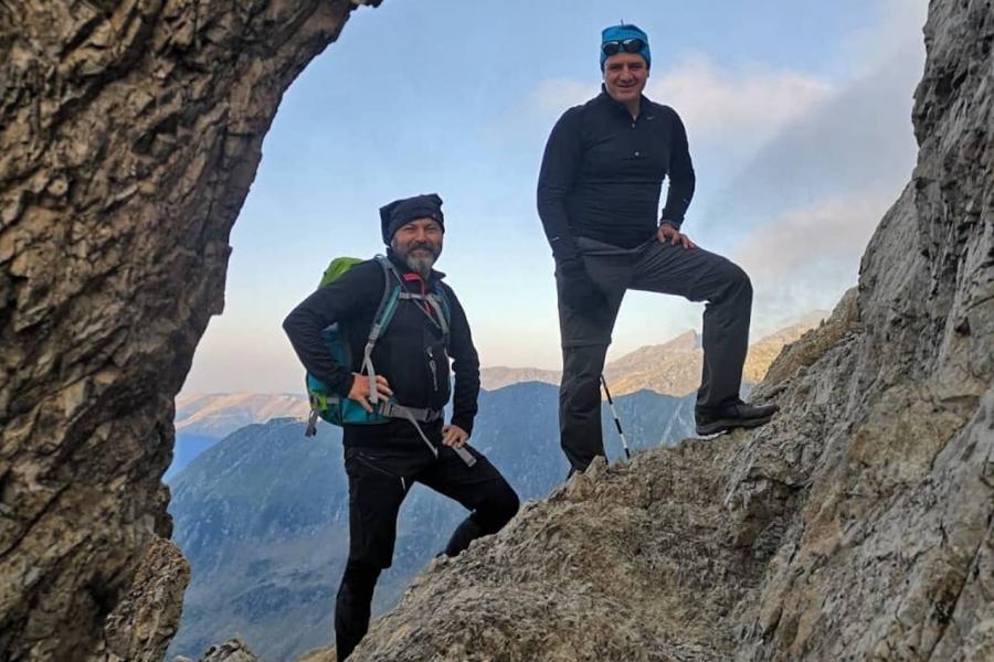 Sergiu Neguț pe munte
