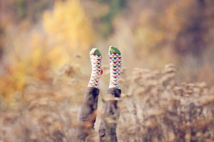 Happy toe
