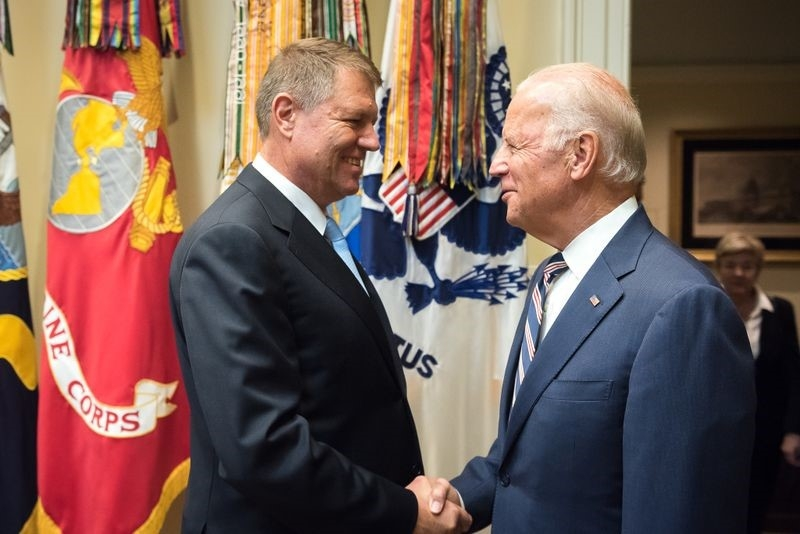 Klaus Iohannis - Joe Biden - presidency.ro