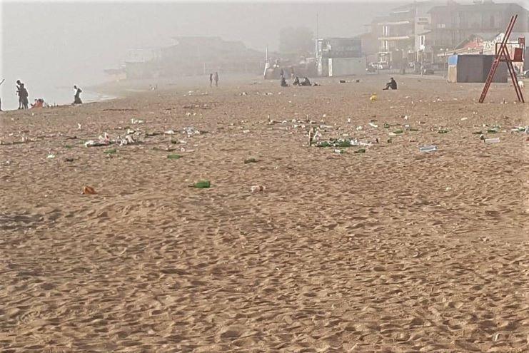 Plaja din Vama Veche - 16 mai