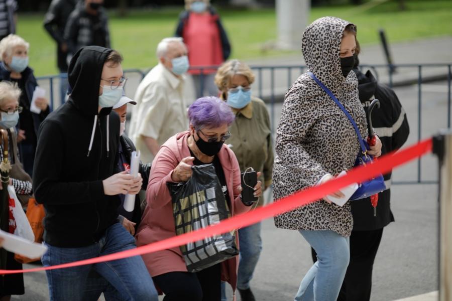 vaccinare - maraton (Foto: Inquam Photos / George Călin)
