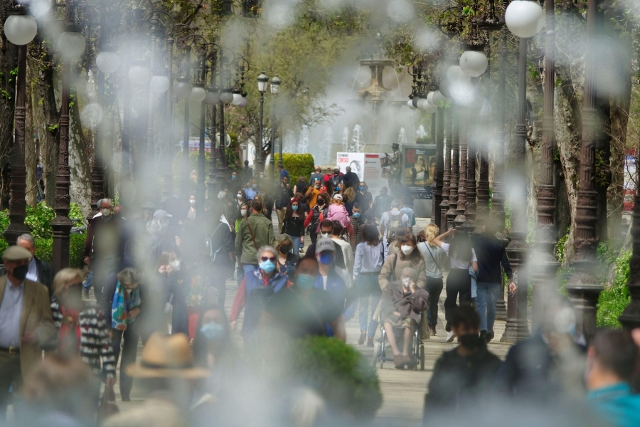 oameni pe strada 2021 - Foto: Miguel ngel RM / Alamy / Alamy / Profimedia