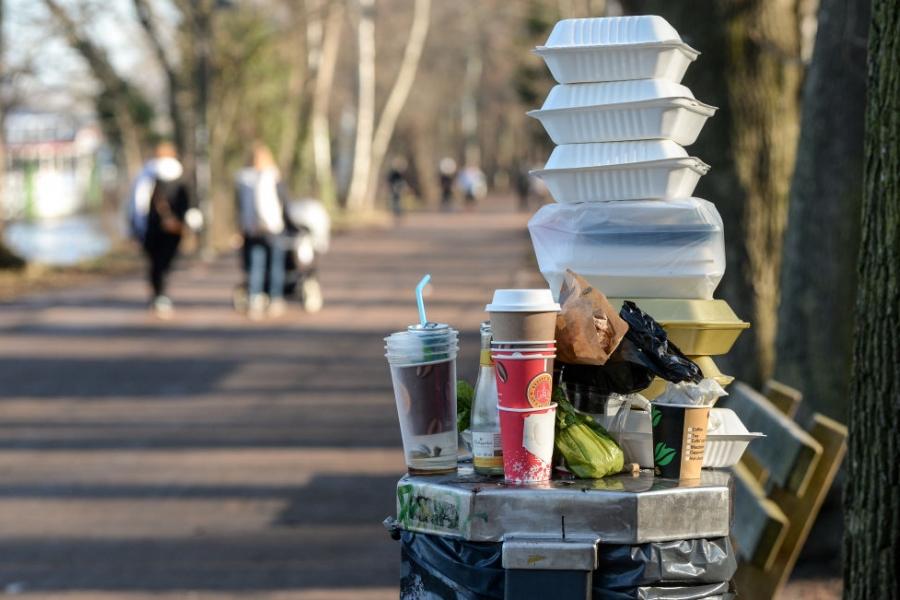Plastic de unică folosință