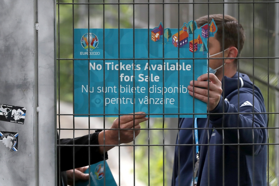 Euro 2020 - no more