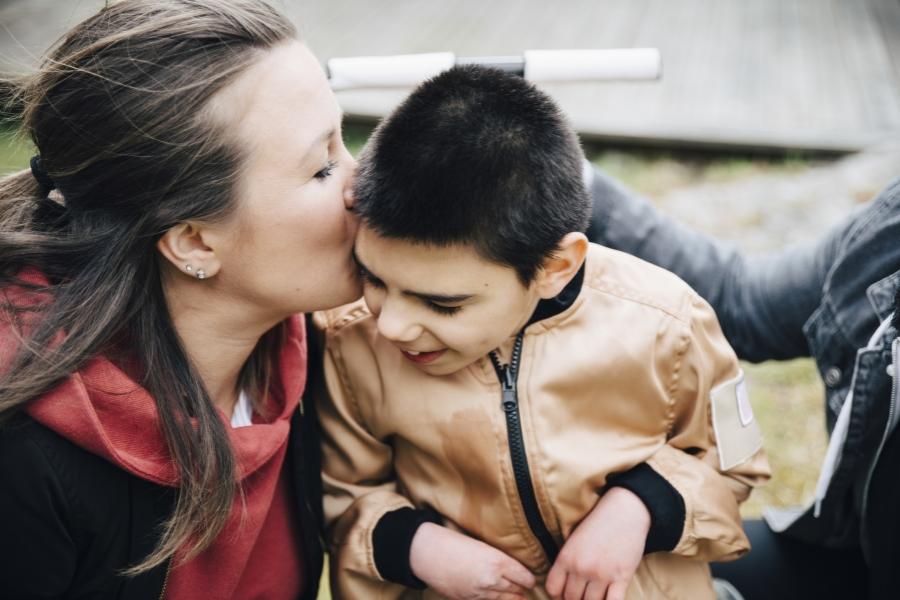 Copil cu nevoi speciale