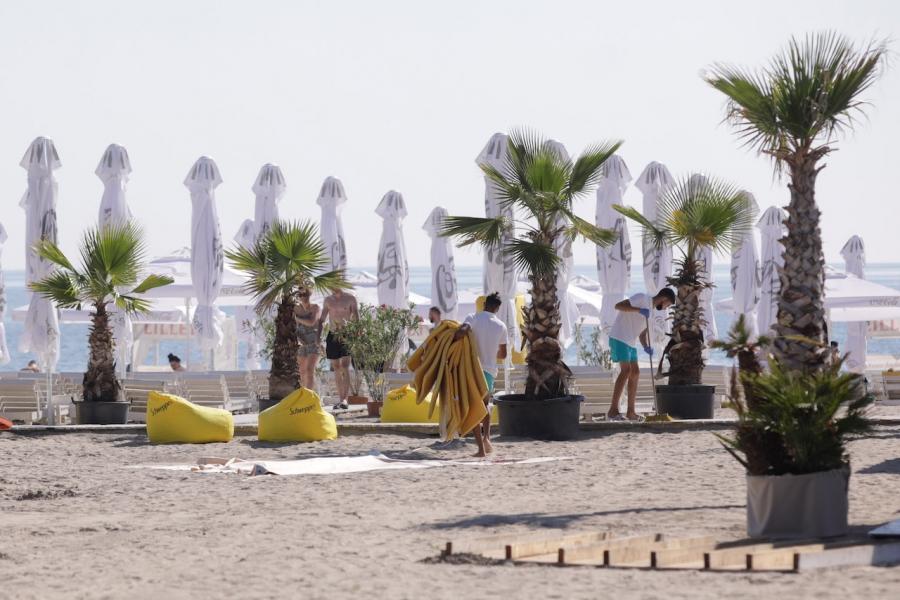 Plajă Mamaia